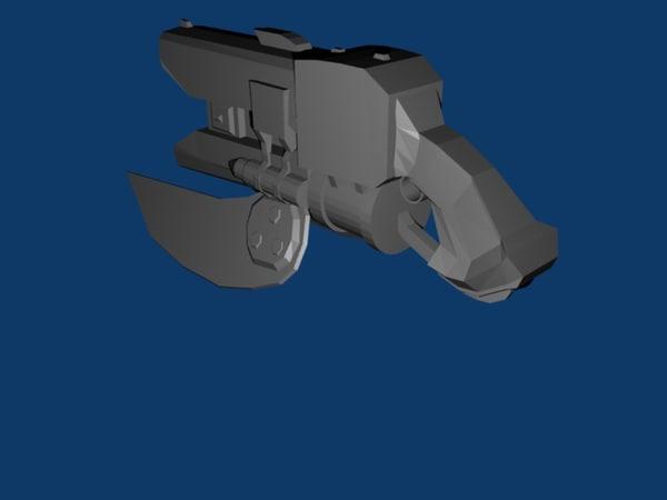 spiker halo 3d model