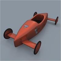 soapbox racer 3d model
