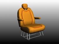 gmg car seats 3d model