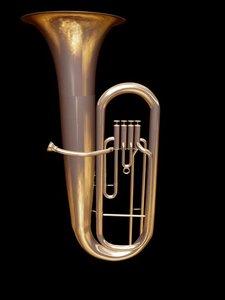 orchestra tube 3d model