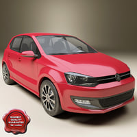polo modelled 3d model