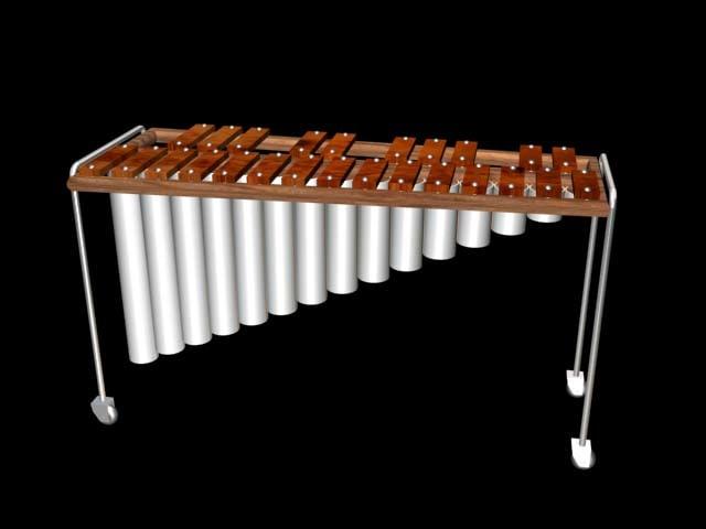xilofone chinese 3d model