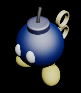 free max mode mario bomb-omb