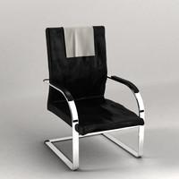 futuristic chair 3d model