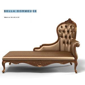 creazoni bella chaise 3d model