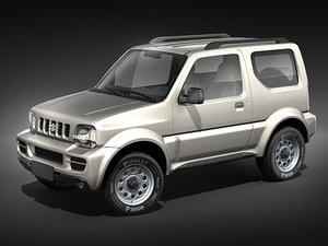 suzuki jimny jeep 3d model