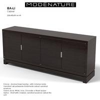modenature ba-li sideboard 3d model