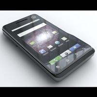phones xt720 3d model