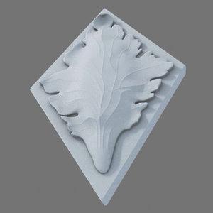 ornament stone 3d model