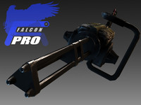 minigun 2020 ready 3d model