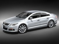 volkswagen passat cc sedan 3d model
