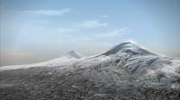 mountain ararat 3d model