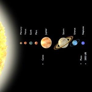 stylized planets 3d model