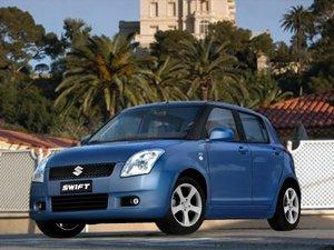 suzuki swift 2006 3d model