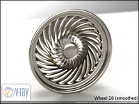 wheel 26 3d model