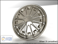 wheel 35 3d model