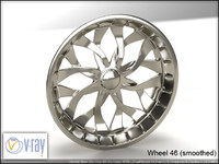 wheel 46 3d model