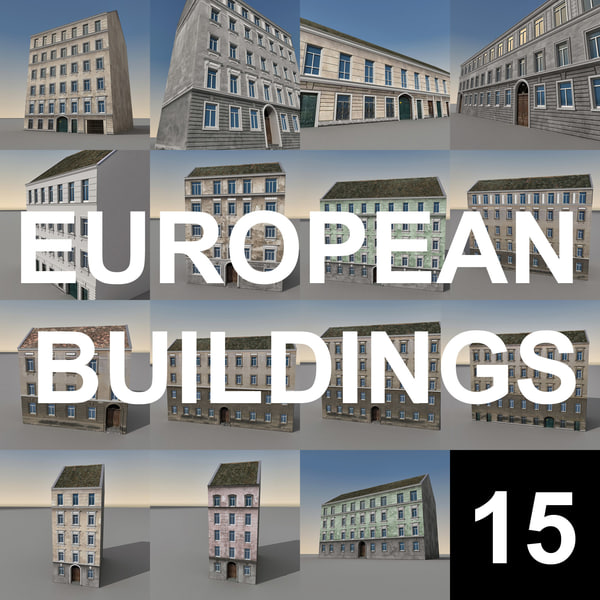 European Buildings Collection 01