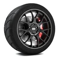 bbs ch-r wheel 3d model