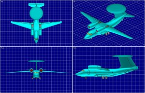 3d model an-71 madcap rev aew