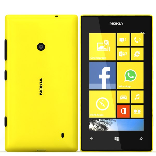 Nokia Lumia 520 Yelllow