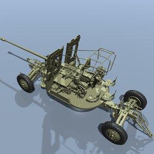 3d model soviet s-60