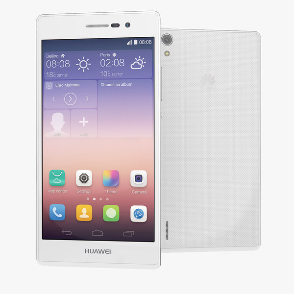 Huawei Ascend P7 Smartphone White