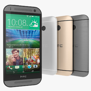 HTC One Mini 2 Grey, Gold And Silver