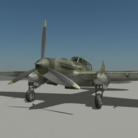 IL-2 russian air-fighter