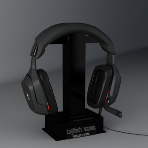 logitech g35 3d model