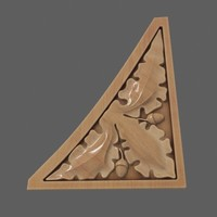 spandrel wooden 3d model