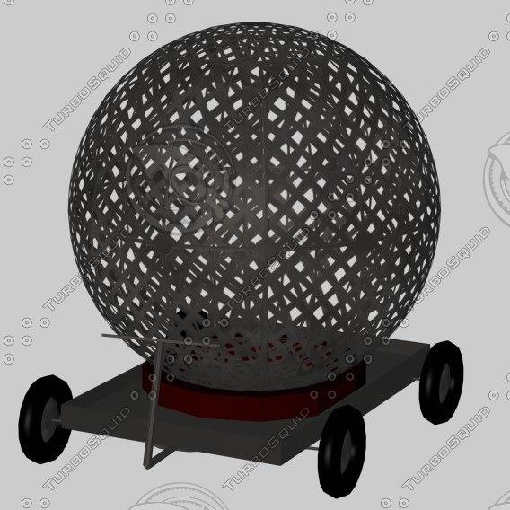 powerball circus 3d model