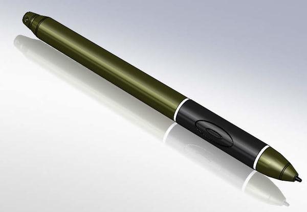stylus pen 3d model