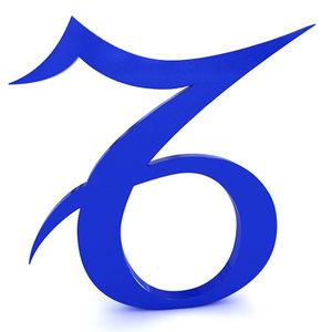 zodiac capricorn 3d model