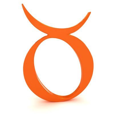 zodiac taurus 3d model