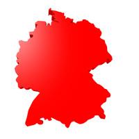 free germany border 3d model