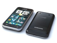 samsung i9000 - galaxy 3d model