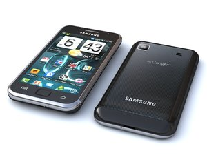 samsung i9000 - galaxy 3d model