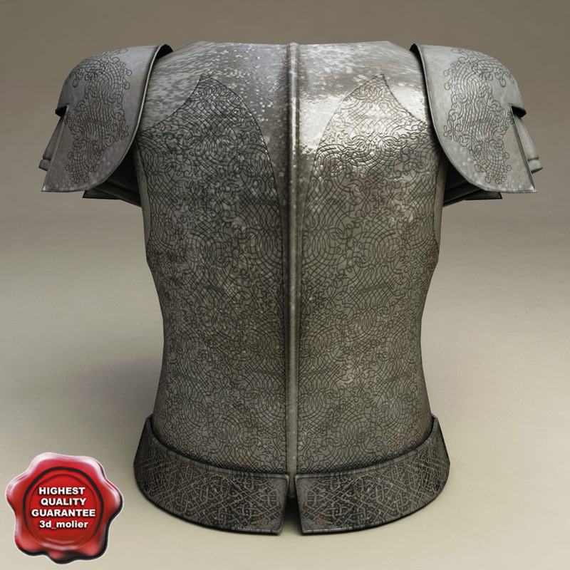 armour v4 3d model