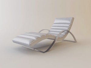 free 3ds model armani bernini lounger