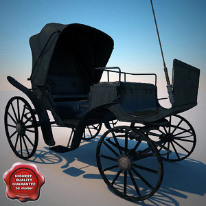 carriage v2 3d model