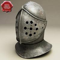 Medieval helmet V3