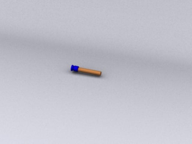 free nerf dart 3d model