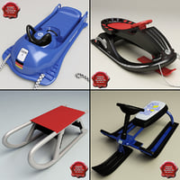 Snow Sleds Collection