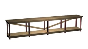 work bench 3d model