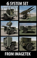 Six (6) US Military Trailer Collection Set #2