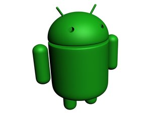 android mascot droid 3d model