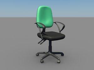 ergonomic chair 3d model
