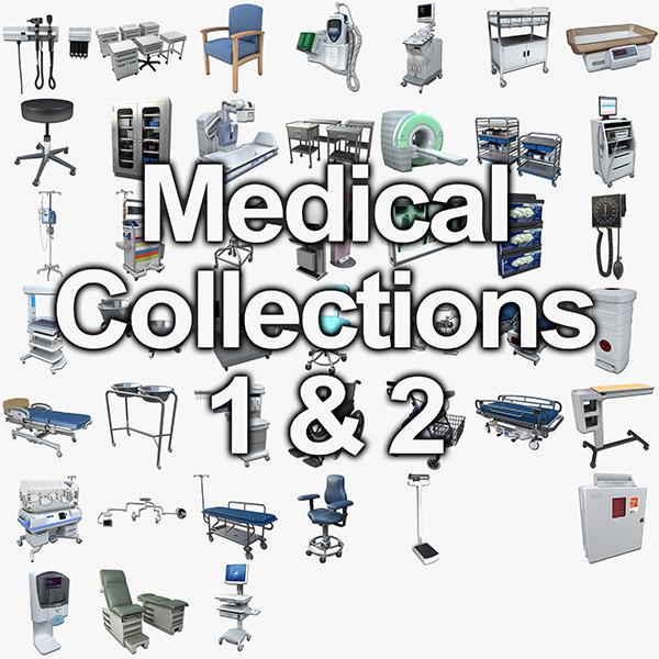medical 1 2 3d model