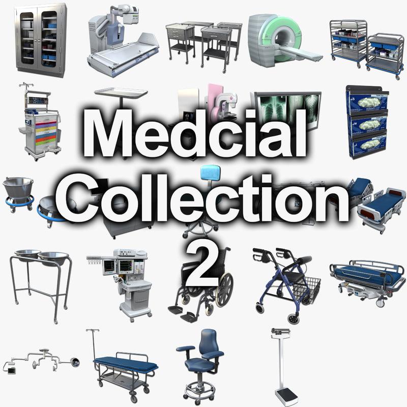 medical 2 3d model